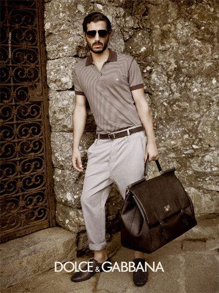 Кампания: Dolce & Gabbana SS 2012 Men. Изображение № 9.