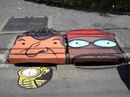 Уличные художники Сан-Пауло делают город веселее. Изображение № 6.