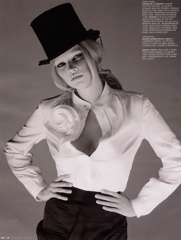 Lara Stone WAugust 2009. Изображение № 4.