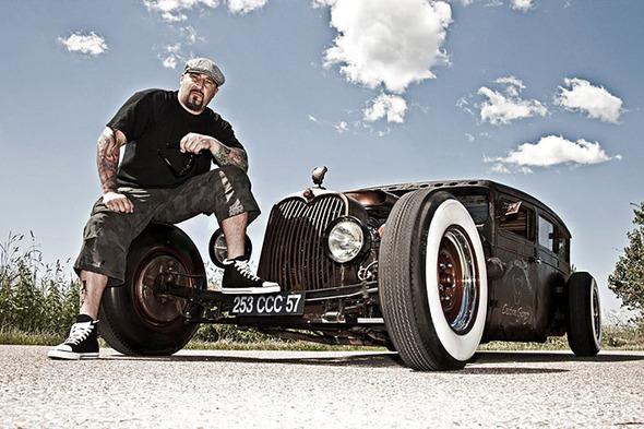 Dirk Behlau — рок, татуировки, хот-роды, пин-ап и выпивка. Изображение № 17.