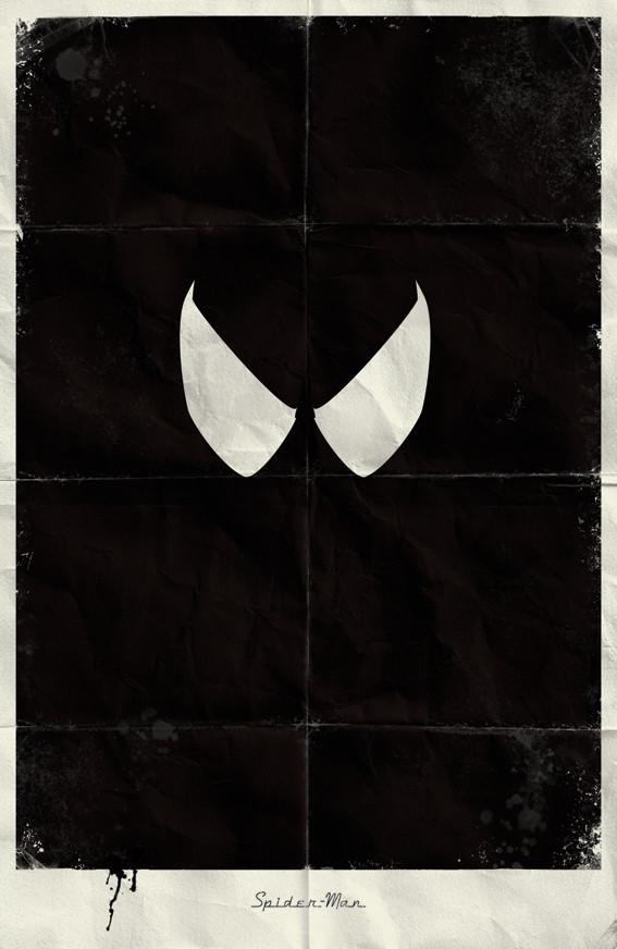 Минималистичные постеры для Marvel Comics. Изображение № 5.
