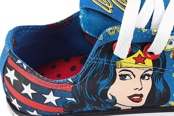 DC COMICS X CHUCK TAYLOR (WONDER WOMAN). Изображение № 3.