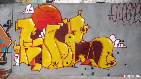 Граффити художники Os Gmeos о творческом пути. Изображение № 3.