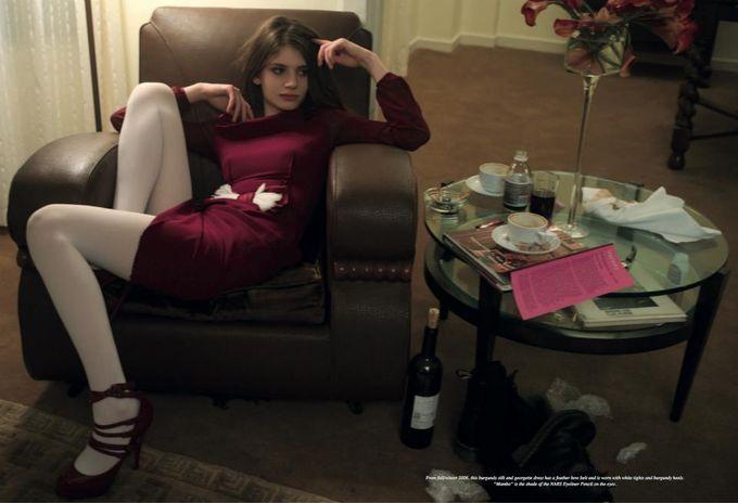 Dazed & Confused, Fat, Vogue и другие журналы выпустили новые съемки. Изображение № 16.