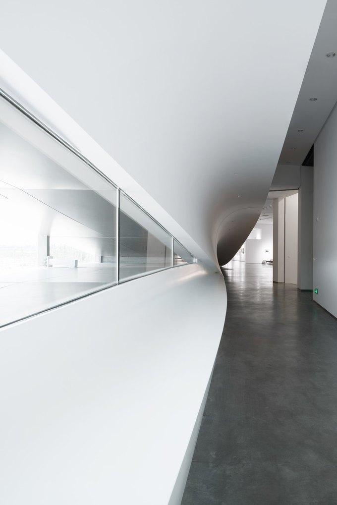 Архитектура дня: музей в Китае сбелым «слоёным» фасадом. Изображение № 17.