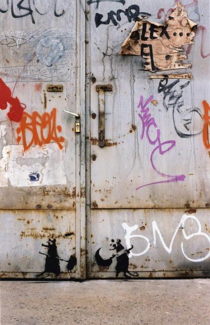 Изображение 22. Banksy (уличная мышь – герой).. Изображение № 22.