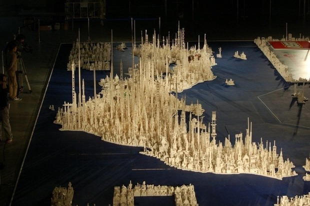 Трехмерная модель Японии из LEGO. Изображение №4.