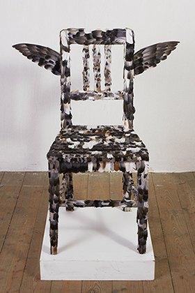Пернатый стул из фильма «Спокойная неделя в доме», 1969. Изображение № 8.