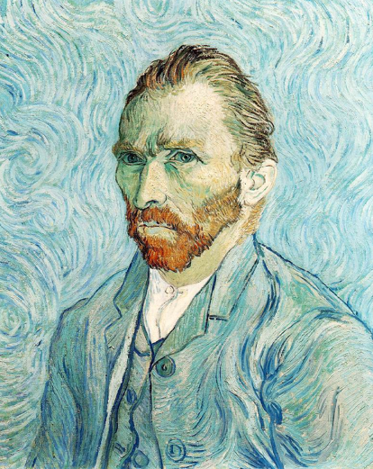 Автопортрет Винсента Ван Гога, 1889 г.. Изображение №1.