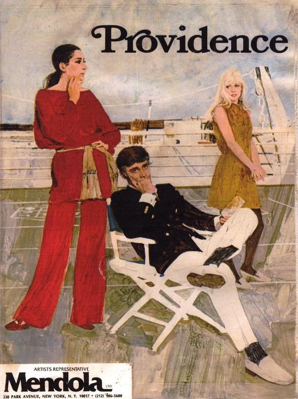 Американские иллюстраторы 40–60гг. ЧАСТЬ 1. Изображение № 17.