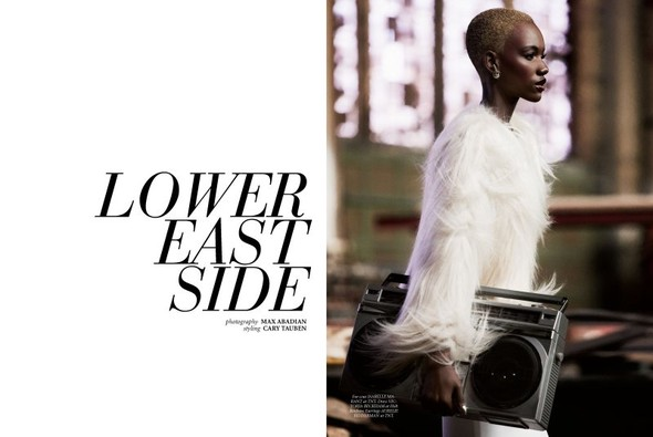 Съёмка: Herieth Paul 4 Dress to Kill Winter 2011 by Max Abadian. Изображение № 1.