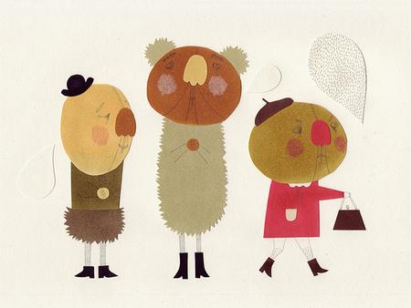 Милые уродцы виллюстрациях Sandra Juto. Изображение № 1.