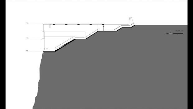 Архитектура дня: концепт церкви-креста на отвесной скале. Изображение № 15.