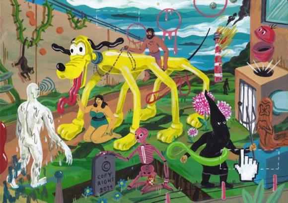 Босх 2.0: Иллюстрации-комиксы Брехта Ванденбрука. Изображение № 11.