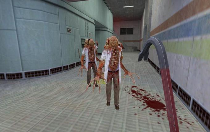 Скриншот из игры Half-Life Black Mesa. Изображение № 1.