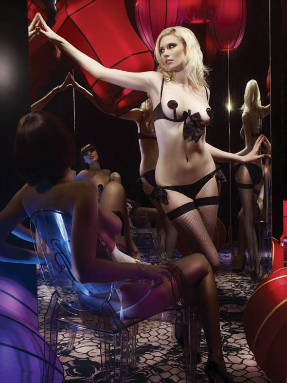 Agent Provocateur 2010: The Classics, Swimwear, Jewelry. Изображение № 21.