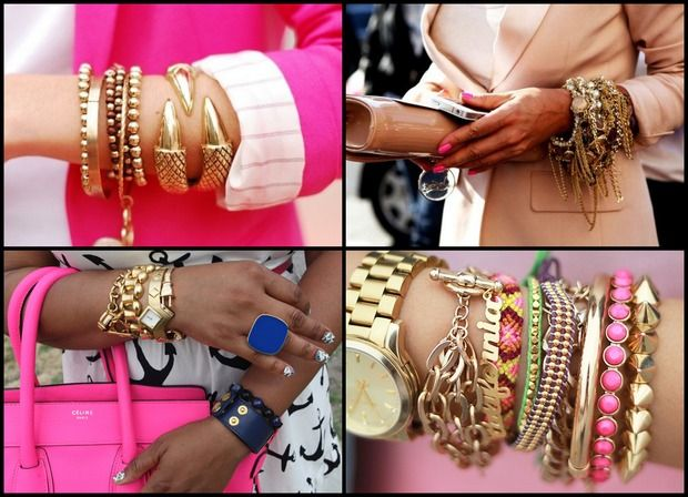Новый тренд: Arm candy, Arm party или Bracelet stacking. Изображение № 4.