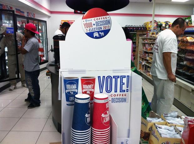 Выборы-выборы: Голосование на кофейных стаканчиках. Изображение № 1.