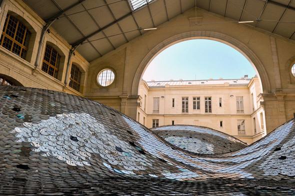 Металлические дюны Wastelandscape в парижском CENTQUATRE. Изображение № 4.