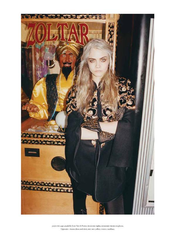 Стоп-кадр: Новые съемки Love, Russh, Vogue и V. Изображение № 48.
