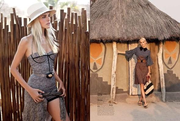 Съёмка: Изабель Лукас для австралийского Vogue. Изображение № 7.