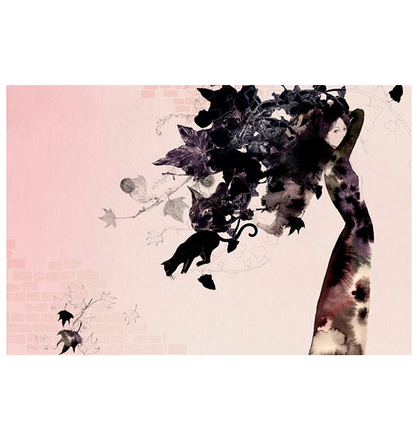Cecilia Carlstedt — бумага, карандаш ичувства. Изображение № 11.