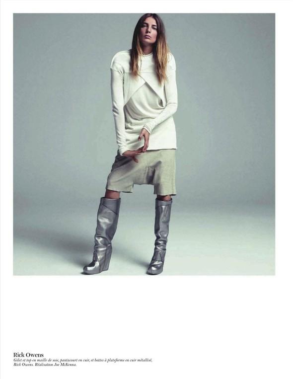 Съёмка: Дарья Вербова для французского Vogue. Изображение № 58.