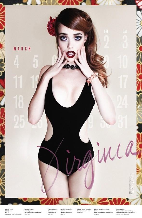 Съёмка: Календарь журнала LoveCat на 2012 год. Изображение № 4.