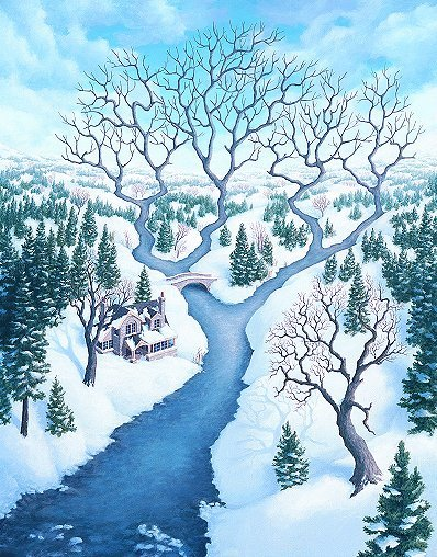 Amazing pictures by Rob Gonsalves. Изображение № 8.