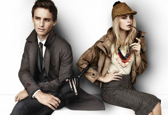Eddie Redmayne and Cara Delevingne. Изображение № 7.