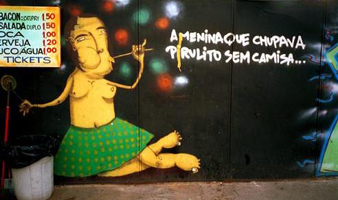 Стены Рио-де-Жанейро. Изображение № 9.