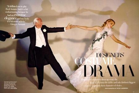 "Фотосъемка Питера Линдберга ""Designers' Costume Drama"". Изображение № 1."