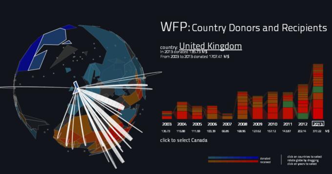Создана интерактивная карта мировой благотворительности. Изображение № 4.