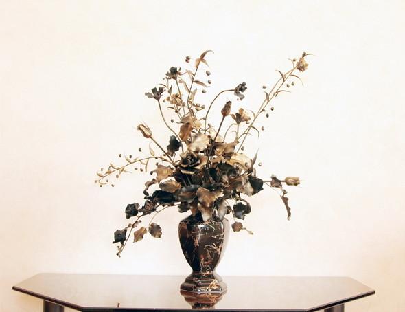 Керамическая флористика. Цветы из глины, ручная работы. Изображение № 5.