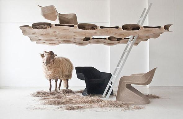 Изображение 2. Мебель из конопли от Werner Aisslinger.. Изображение № 2.