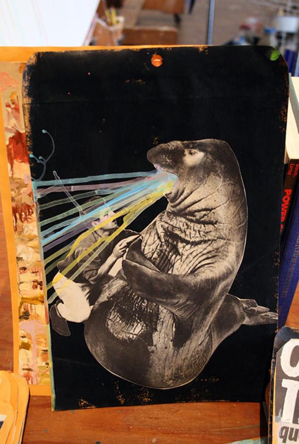 Изображение 21. Рисунки на конвертах Sage Vaughn.. Изображение № 21.