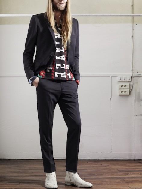 Появились новые фотографии из мужского лукбука Maison Martin Margiela для H&M. Изображение № 2.