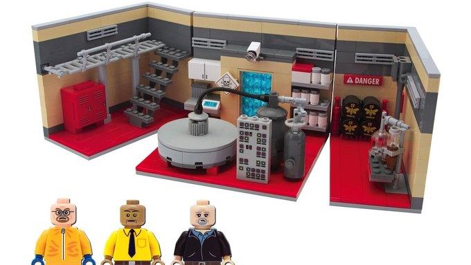 Фанаты сделали набор LEGO «Во все тяжкие». Изображение № 1.