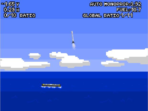Ссылка дня: попробуйте посадить ракету на платформу SpaceX. Изображение № 1.