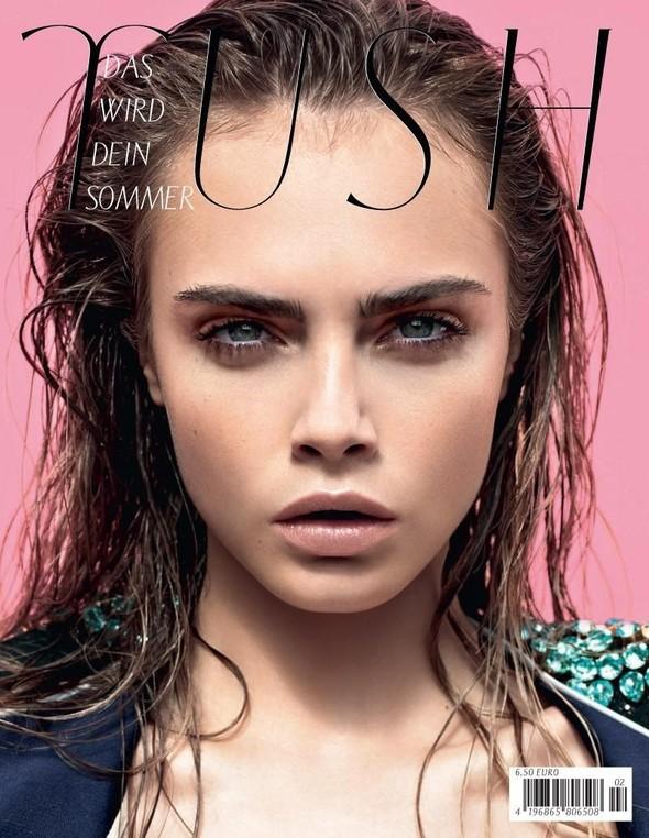 Обложки: Dazed & Confused, Harper's Bazaar, Tush и другие. Изображение № 5.