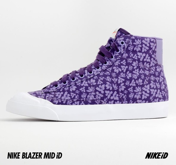 Nike X Liberty Summer Collection/  Blazer Mid iD.. Изображение № 21.