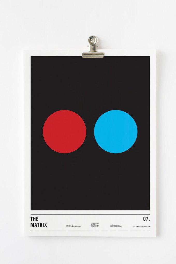 Концепт: постеры к фильмам только из кругов . Изображение № 12.
