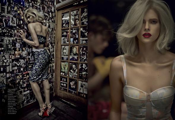 Съёмки: i-D, Tush, Vogue и другие. Изображение № 11.