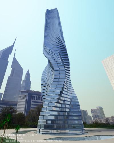 Первое движущееся здание – Dynamic Tower. Изображение № 3.