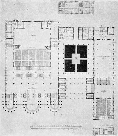 Архитектурные конкурсы 1923–1926 г.вСССР. Изображение № 7.