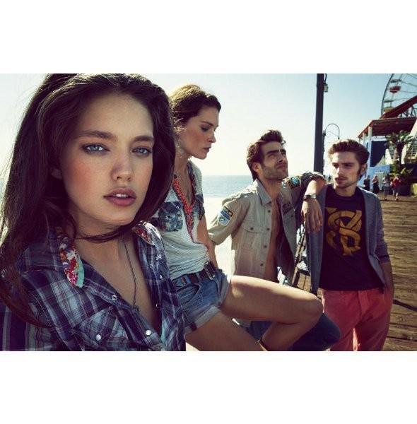 Изображение 29. Рекламные кампании: H&M, Mango и другие.. Изображение № 24.
