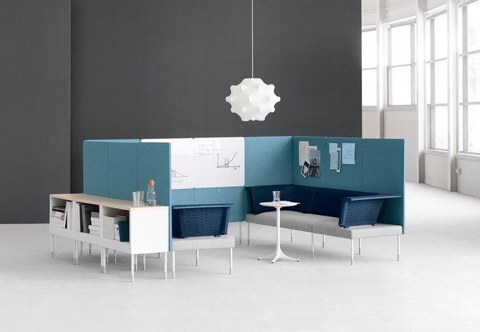 Herman Miller начал выпуск «гибкой» офисной мебели Ива Беара. Изображение № 2.