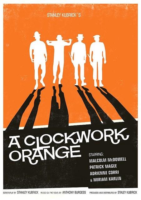 A Clockwork Orange - 20 кинопостеров на тему ультранасилия. Изображение № 10.