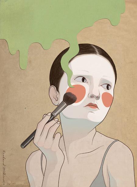 Красивое изабавное виллюстрациях Richarda Wilkinsona. Изображение № 10.
