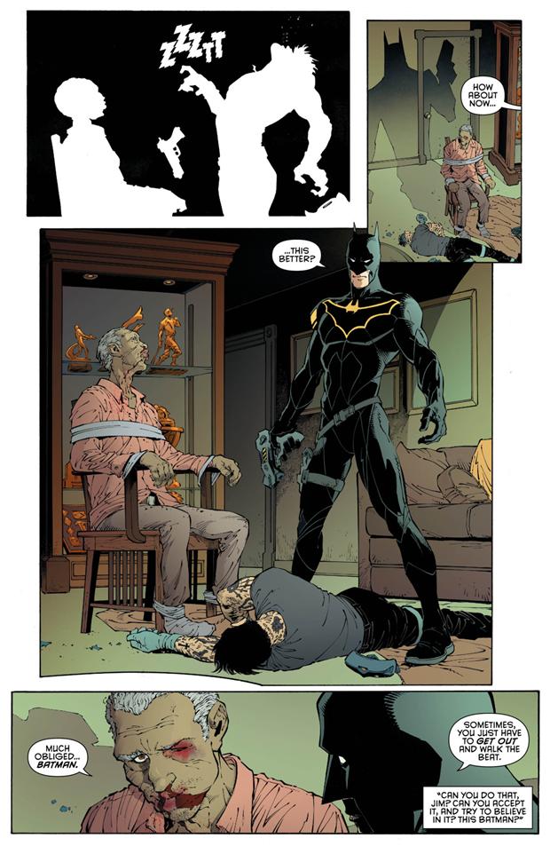 В комиксах новым Бэтменом стал комиссар Гордон. Изображение № 4.